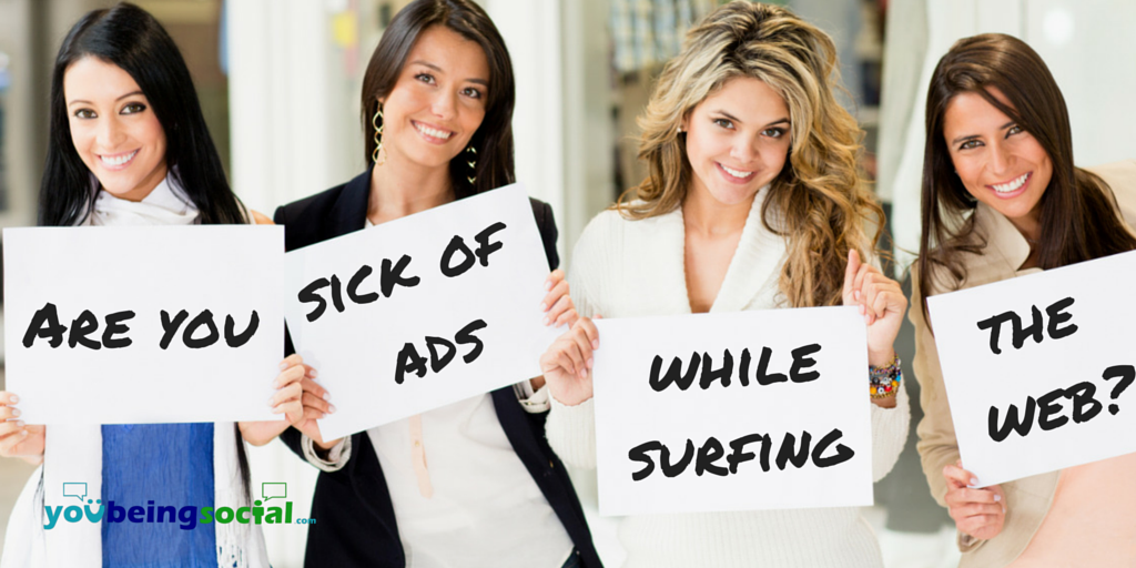 Sick of ads while surfing the web - AdBlock