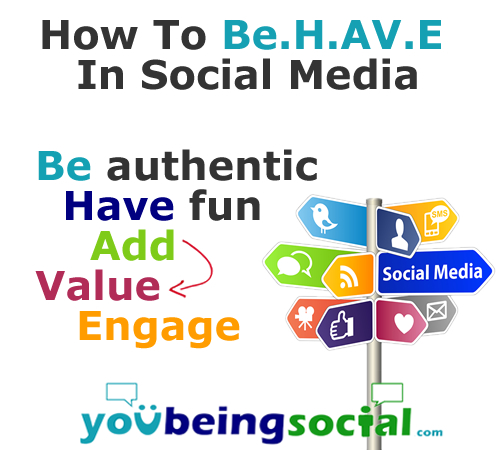 How to behave on social media
